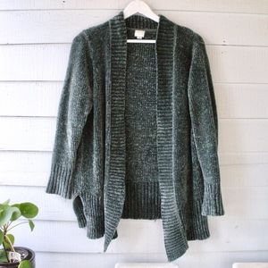 A New Day Chenille Oversize Cardigan Sweater Small